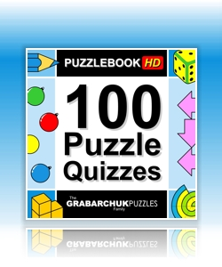 100 Puzzle Quizzes (Interactive Puzzlebook for Tablets and E-readers)