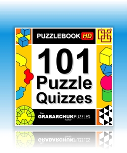 101 Puzzle Quizzes (Interactive Puzzlebook for Tablets and E-readers)