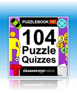 104 Puzzle Quizzes (Interactive Puzzlebook for Tablets and E-readers)